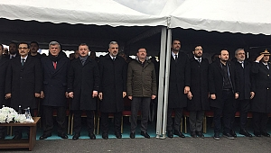 Köseköy Köprülü Kavşağı Bakan Dönmez'in katılımıyla açıldı