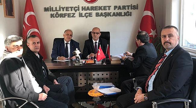 MHP'de mülakatlar başladı