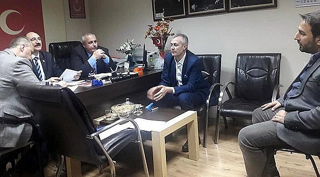 MHP'de mülakatlar yapıldı