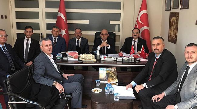 MHP İzmit'te mülakatlar sonlandı