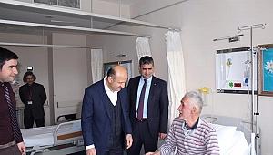 Milletvekili Işık'tan hasta ziyaretleri