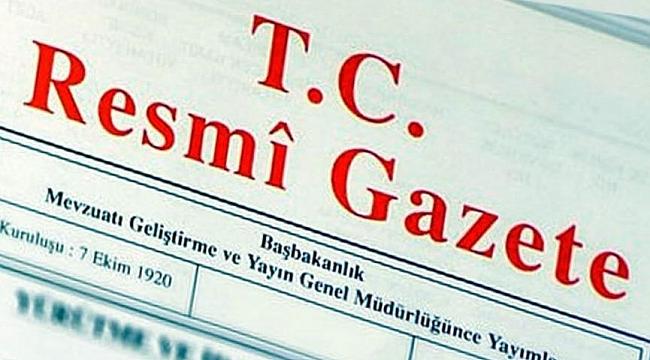 O atamalar Resmi Gazete'de yayımlandı