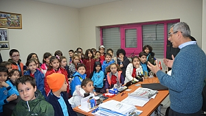 Öğrenciler Dal Lunapark fabrikasını gezdi