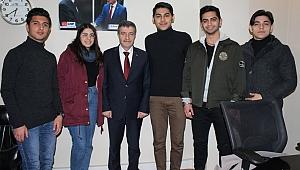 Recep Dursun gençlerle buluştu