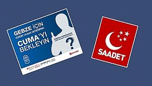 Saadet'ten gizemli tanıtım!