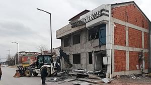 Şoförler Binası yıkılıyor