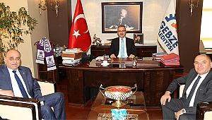 Tarhan'dan belediye başkanlarına ziyaret