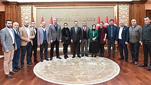 Trabzonlular,Vali Aksoy'u ziyaret etti