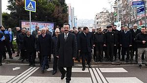 ''Yaya Öncelikli Trafik''e Vali Aksoy'dan destek
