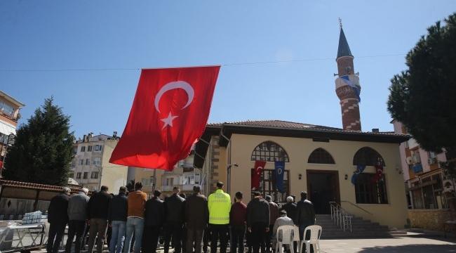 487 yıllık cami yeniden ibadete açıldı