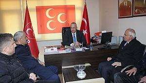 AK Parti Gebze, MHP'yi ziyaret etti