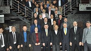 AK Parti'liler KOTKO esnafları ile buluştu
