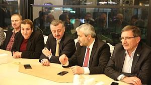 AK Parti'nin kurucuları bir araya geldi