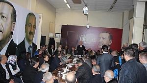 AK Partililer, Metin Gökçe'yi ağırladı