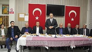 Başkan Büyükerşen'den Törk'e tam destek