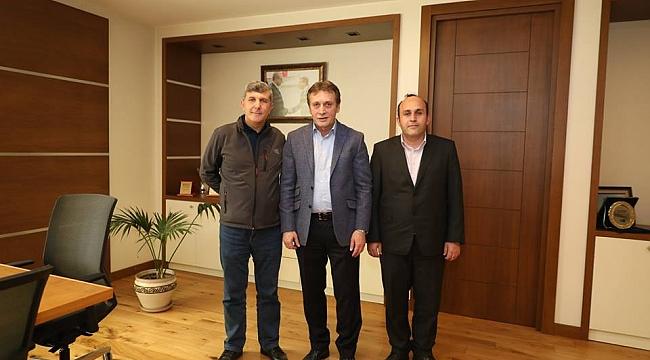 Başkan Demirci'ye sürpriz ziyaret