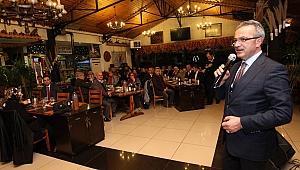 Başkan Köşker meclis üyelerini ağırladı