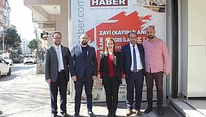 Burcu Çetinkaya'dan gazetemize ziyaret