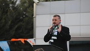 Büyükakın'dan Kocaelispor'a tam destek