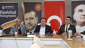 Demirci, meclis üyeleriyle vedalaştı