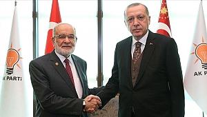 Erdoğan'dan Karamollaoğlu'na taziye telefonu