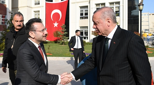 Erdoğan'dan Kocaeli Valiliği'ne ziyaret