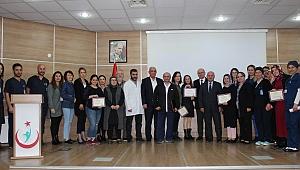 Farabi'de hemşireler sertifikalı oldu