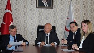 Farabi'de verimlilik sonrası toplantı