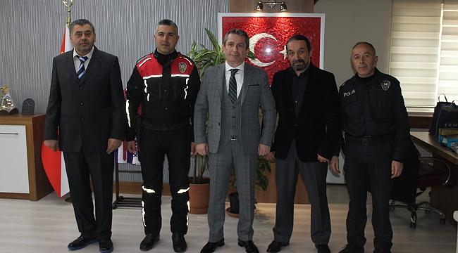 Gebze'de başarılı polisler ödüllendirildi!