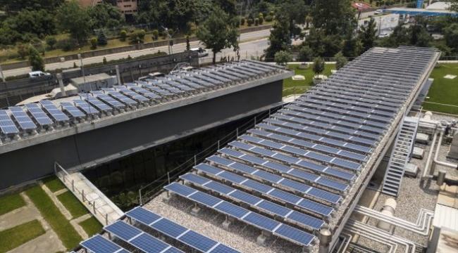Gebze Şişecam, güneş enerjisi santrali kurdu