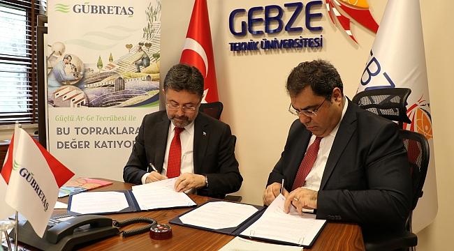 """GTÜ ve GÜBRETAŞ """"Milli Gübre"""" için çalışacak"""
