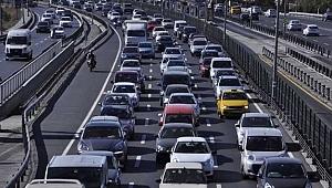 Kocaeli'de araç sayısı 400 bine dayandı