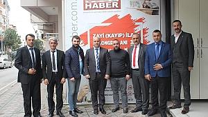 MHP Çayırova'dan gazetemize ziyaret