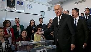 MHP Genel Başkanı Bahçeli oyunu kullandı