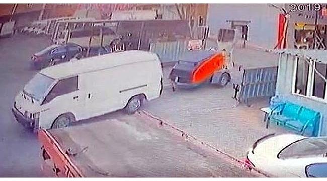 Polis 'alıcı' kılığına girdi, iş makinesini çalan 7 şüpheliyi yakaladı