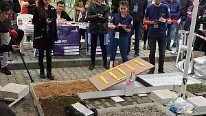 Robotlar GTÜ'de yarışacak