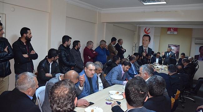 Şayir'den YRP'ye ziyaret