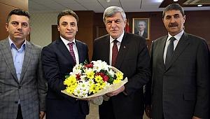 Şener Doğan, Karaosmanoğlu'nu ziyaret etti!
