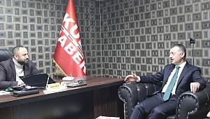 Tahir Büyükakın'dan gazetemize ziyaret!