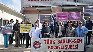 Türk Sağlık Sen, döner sermayeye tepki gösterdi