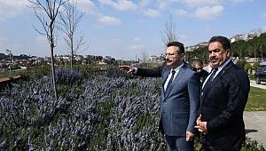 Vali Aksoy, Gebze Macera Parkı ve Millet Bahçesini inceledi