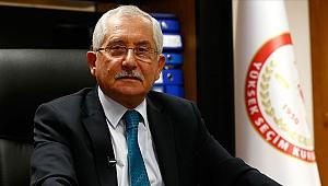 YSK Başkanı Güven'den 'seçim güvenliği' açıklaması