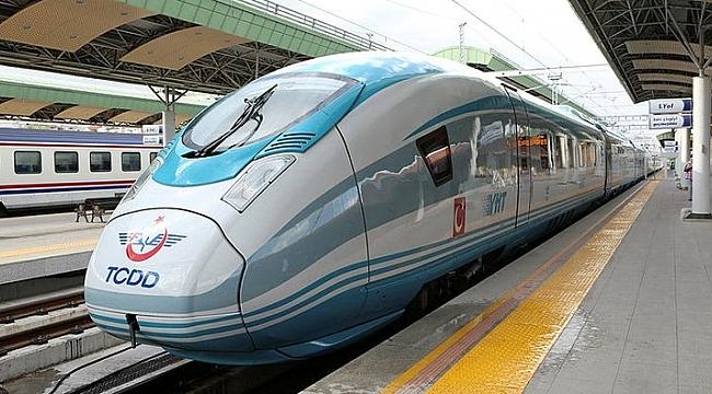 Yüksek Hızlı Tren kullanacaklar dikkat! İşte yeni saatler!