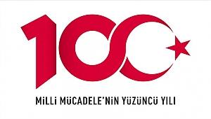 100. yıla özel logo