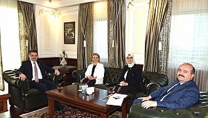 AK Partili vekiller, bakan Pakdemirli'yle görüştü
