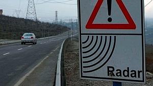 Araç sürücüleri dikkat! O yola radar yerleştirildi