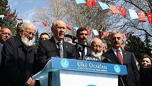 Bahçeli: Alparslan Türkeş'in hatırasına her daim sahip çıkacağız