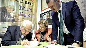 Başkan Büyükakın, Nuri Pakdil'le bir araya geldi