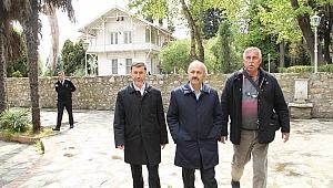 Başkan Büyükgöz  Osman Hamdi Bey'de
