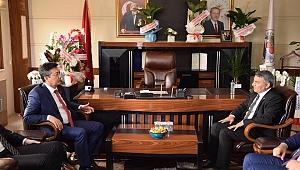 Başkan Şayir'e tebrik ziyaretleri sürüyor